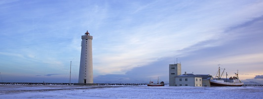 Lighthouse in Garður
